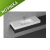 Keramické umývadlo ISVEA PURITA, 121 cm, 10PL51120