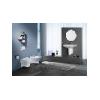 Rohové umývadlo ROCA NEXO, 35x54,5, A327646000 biele (7327646000)