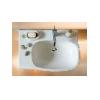 Asymetrické umývadlo KOLO STYLE, 65x46cm, pravé, Reflex, L21765900