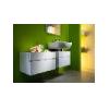 Kúpeľňové zrkadlo KOLO DOMINO, cappuccino, 70x80cm, 88321