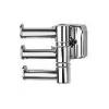 Vešiak trojitý - otočný ESPERADO ESP 047 chróm